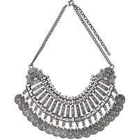 Pilgrim Allow Halsband 40cm - Silver