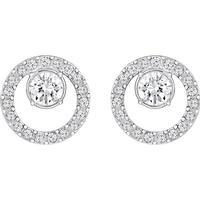 Swarovski Creativity - Rhodium Earrings w. Crystal S (5201707)