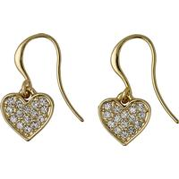 Pilgrim Örhängen - Guld/Kristall