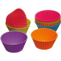 Kitchen Craft Colourworks Silicone Cupcake form Ø 7 cm (12 pakke) 12 pakke