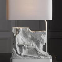 Lladro-Quixote Mural Lampe (US)