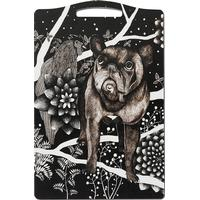 Nadja Wedin Franska Hunden Skærebræt 30 x 20 cm