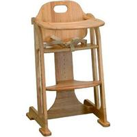 East Coast Nursery Multi Height Wooden Highchair