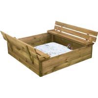 NSH Nordic Sandbox with Bench & Lid