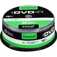 Intenso DVD-R 4.7GB 16x Spindle 25-Pack