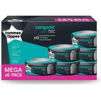 Tommee Tippee Sangenic Compatible Cassette Refills 6-pack