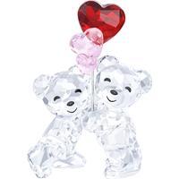 Swarovski Kris Bear Heart Balloons 6.2cm Prydnadsfigur