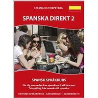 Spanska Direkt 2 MP3CD (Ljudbok MP3 CD, 2016)