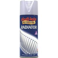 Plasti-Kote Twist & Spray Radiator Satin Light Gray 400ml