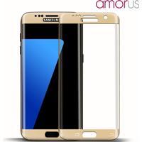 AMORUS Panserglas fuld skærm dækning Samsung Galaxy S7 Edge