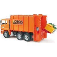 Bruder Man Tga Rear Loading Garbage Truck 02762