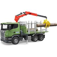 Bruder Scania R-Series Timber Truck With 3 Trunks 03524