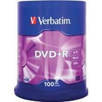 Verbatim DVD+R 4.7GB 16x Spindle 100-Pack
