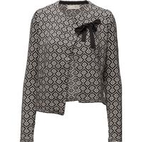 Odd Molly Knitted Wings Cardigan - Almost Black (616M-711)