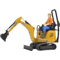 Bruder Jcb Micro Excavator 8010 CTS and Man 62002