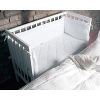 Babytrold Bedside Crib, hvid