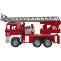 Bruder Man Fire Engine With Selwing Ladder 2771