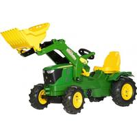 Rolly Toys John Deere 6210R Tractor With Frontloader And Pneumatic Tyres
