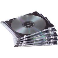 Fellowes CD/DVD Slim Jewel Cases 98316 - 25 stk