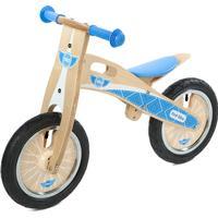 Tidlo Springcykel Blå i plywood