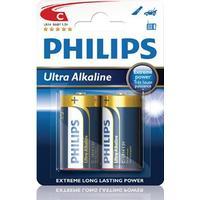 Philips ExtremeLife+ Ultra Batteri Alkaline 2st C/LR14