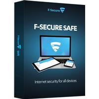 F-Secure Safe Internet Security 1 år 3-Enheter Esd