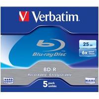 Verbatim BD-R 25GB 6x Jewelcase 5-Pack