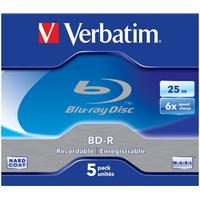 Verbatim BD-R 25GB 6x Jewelcase 5-Pack