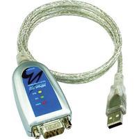 Moxa USB till seriell adapter, RS-422/485, DB9ha, 10 cm