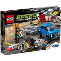 Lego Speed Champions Ford F-150 Raptor Og Ford Model A Hotrod 75875