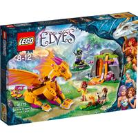 Lego Elves Fire Dragon's Lava Cave 41175-1