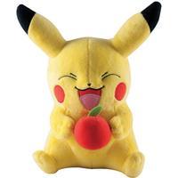 Pokémon Large Plush Pikachu with Apple