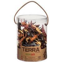 Terra Horses 60pcs