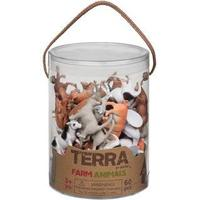 Terra Farm Animals 60pcs