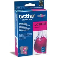 Brother LC980M magenta bläckpatron original 10,6 ml
