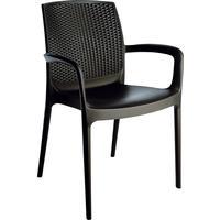 Dancover Stuhl mit Armlehnen, Boheme, Anthrazit, 6 Stück