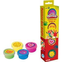 Play Doh Fingerfärg 4 x 40ml