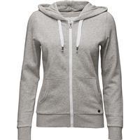 Only Onlfinley LS Zip Hood Noos - Light Grey Melange (15121457)