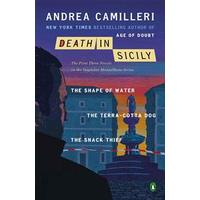 Death in Sicily: The First Three Novels in the Inspector Montalbano Series: The Shape of Water; The Terra-Cotta Dog; The Snack Thief (Häftad, 2013)