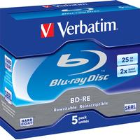 Verbatim BD-RE 25GB 2x Jewelcase 5-Pack