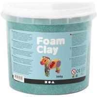 Foam Clay Dark Green Clay 560g
