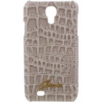 Guess Samsung Galaxy S4 I9500, I9505 Guess Croco Cover - Beige