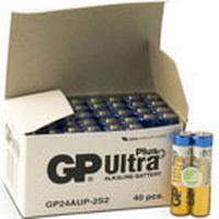 Batteri GP Ultra Plus Alkaline AAA/LR03 40st/fp