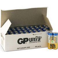Batteri Ultra Plus Alkaline AA/LR6 40st/fp