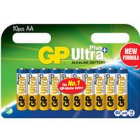 Batteri Ultra Plus Alkaline AA/LR6 10st/fp