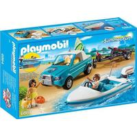Playmobil Surfer Pickup Mit Speedboat 6864