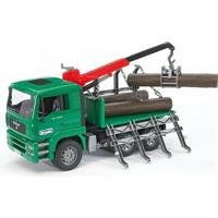 Bruder Man Timber Truck With Loading Crane 2769