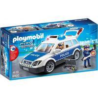 Playmobil Politipatrulje Med Lys Og Lyd 6920
