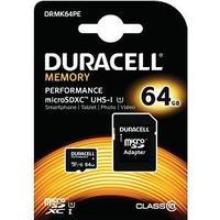 Duracell MicroSDXC Performance UHS-I U1 80MB/s 64GB