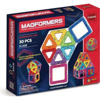 Magformers Rainbow 30 Dele - magnetbyggesæt